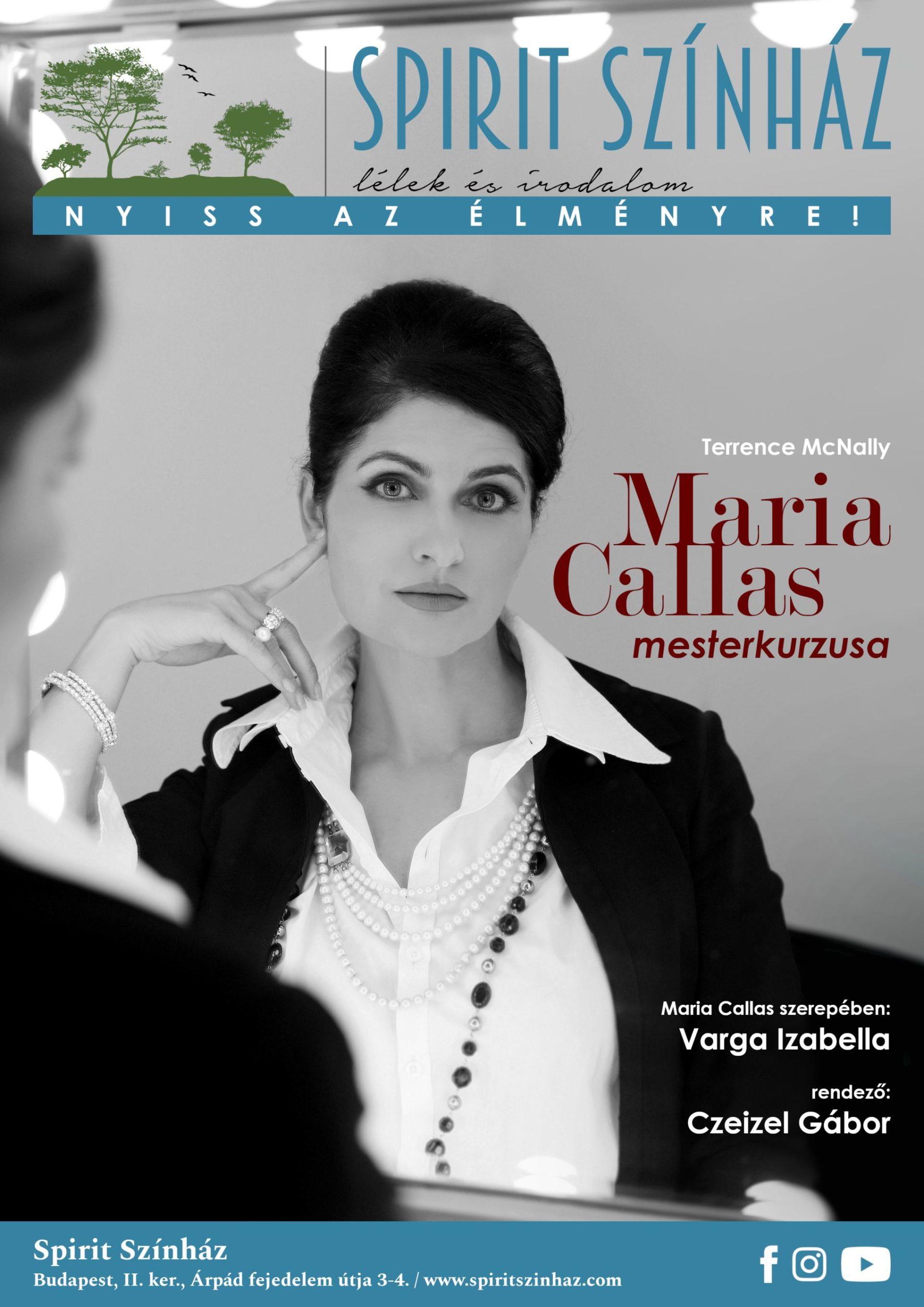 Maria Callas mesterkurzusa