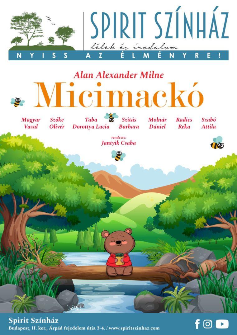 Micimackó – zenés mesejáték gyerekeknek és felnőtteknek