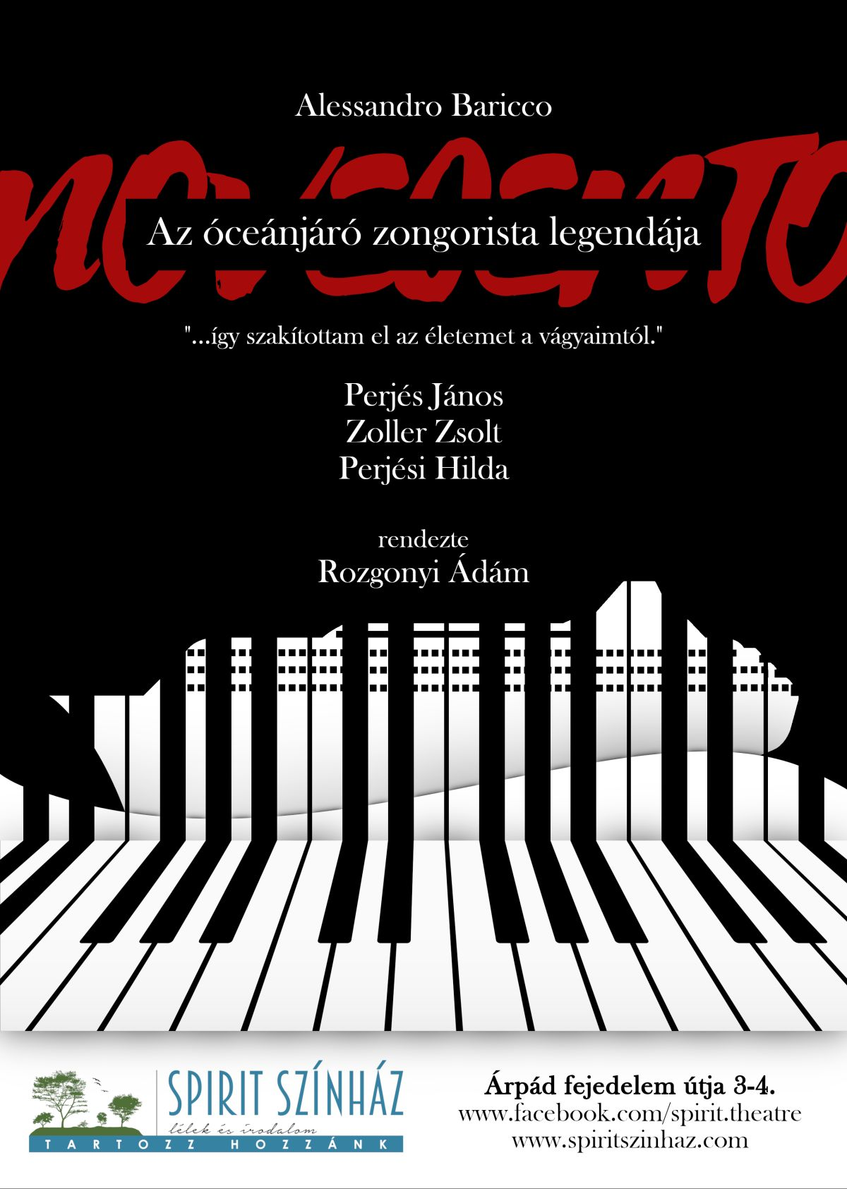 Novecento – Az óceánjáró zongorista legendája / felújítás