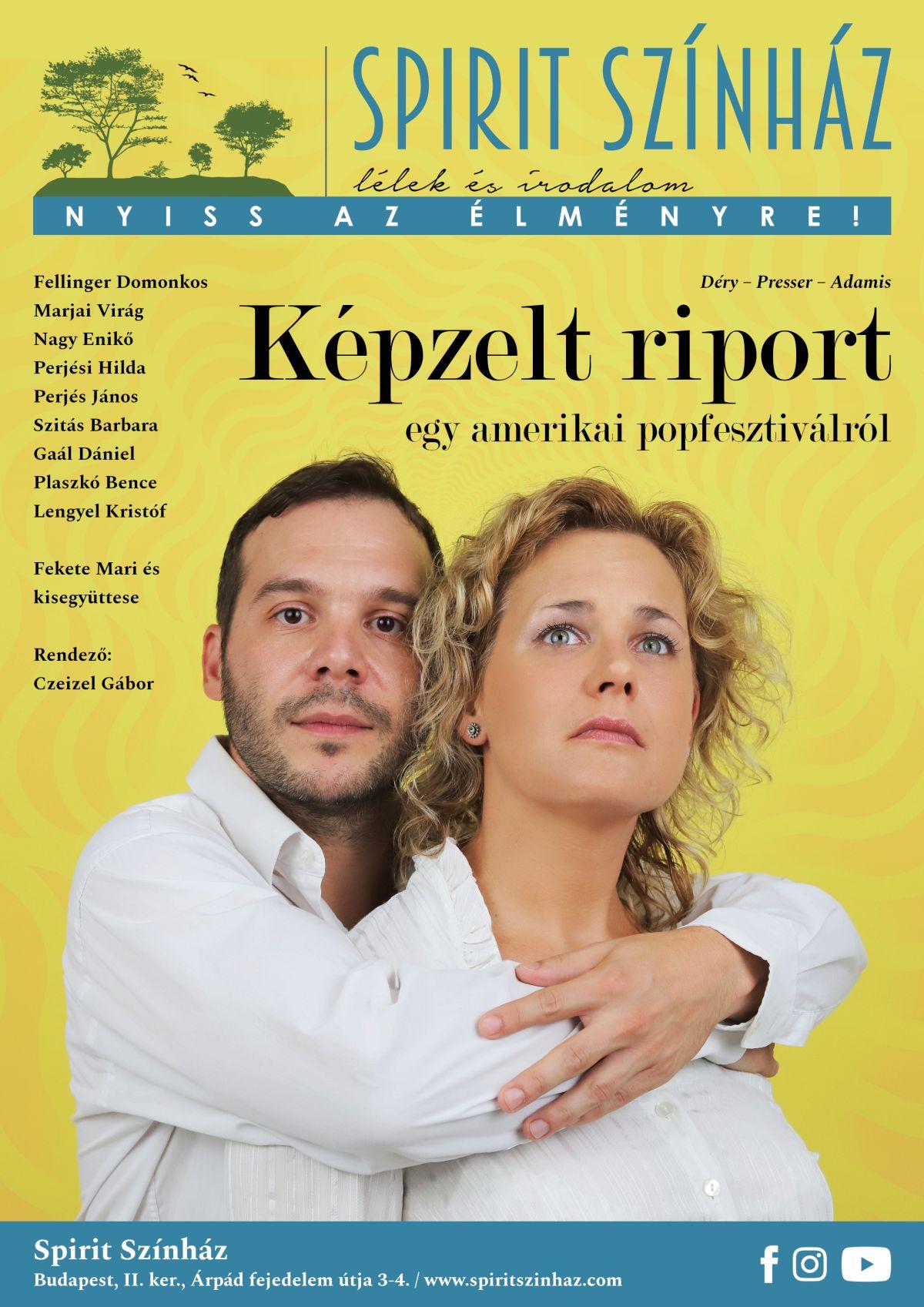 A Spirit Színház előadásának plakátja