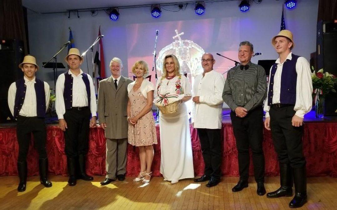 Szent István-napi ünnepség a Los Angeles-i Egyesült Magyar Házban