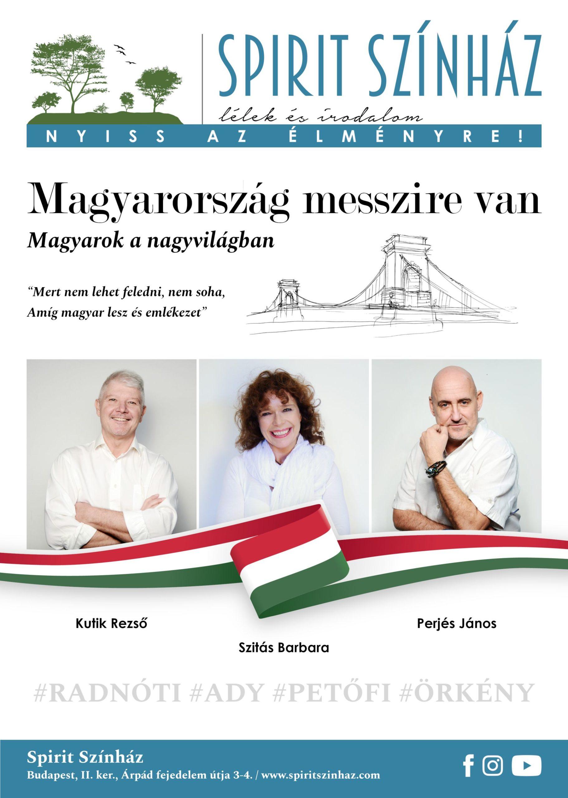 Magyarország messzire van – magyarok a nagyvilágban